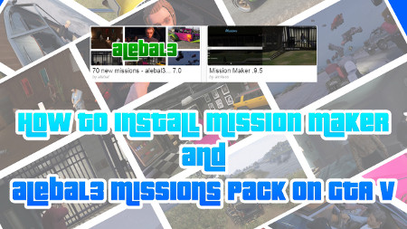 How to install the missions & Mission Maker by aimless